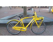 2e hands Gazelle yellow cab heren 54 cm